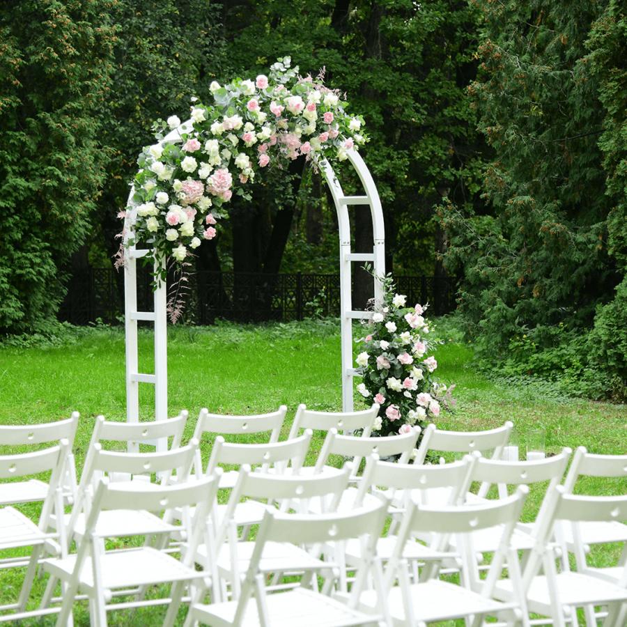 trouwfeest in de tuin